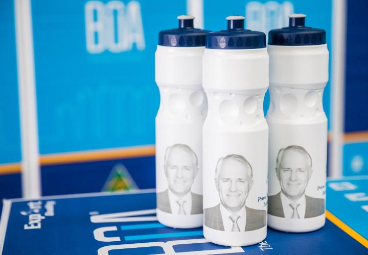 Bottles of Australia - Prime Minister visit
